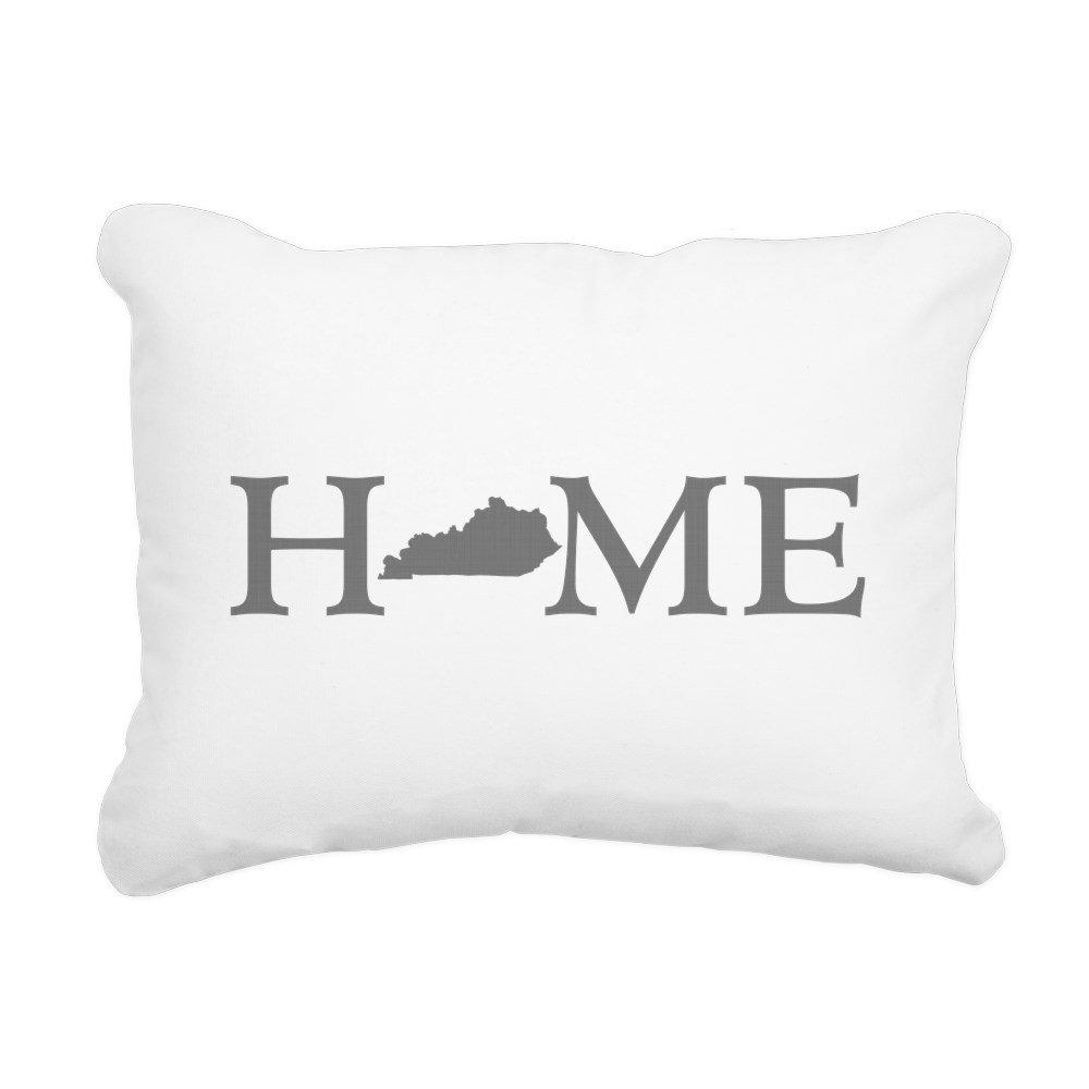 CafePress - Kentucky Home - 12''x15'' Rectangular Canvas Pillow, Decorative Throw Pillow with Piping, Accent Pillow