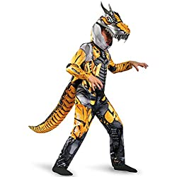 Transformers Age of Extension Grimlock Deluxe Boys Costume, 4-6X