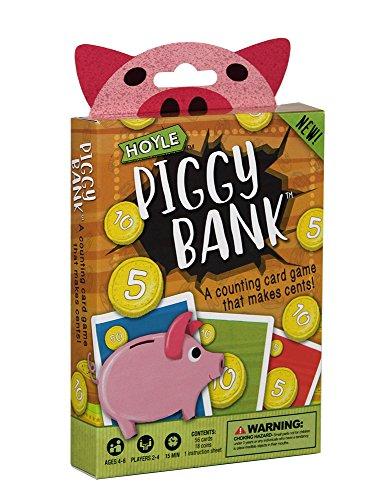 Hoyle Piggy Bank Children's Card Game (Bank Piggy Set)
