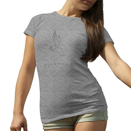 Meanwhile Hands T-Shirt camiseta para la Mujer Gris