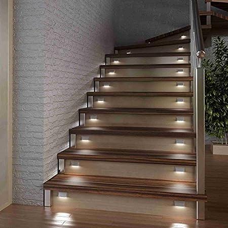 GEA GmbH LED Escaleras Niveles Socket de iluminación, Individual,: Amazon.es: Hogar