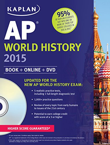 Kaplan AP World History 2015: Book + Online + DVD (Kaplan ...