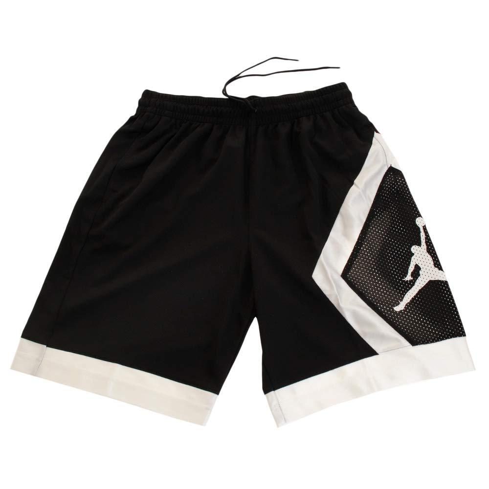 Medium Jordan Jumpman Diamond Shorts Men Black M