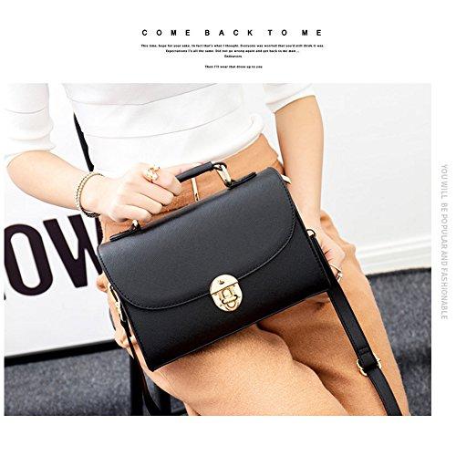 Yoome elegante retro bolsa de la aleta de la Cruz patrón cartera para las mujeres bolso de la bolsa de embrague embrague - negro Negro