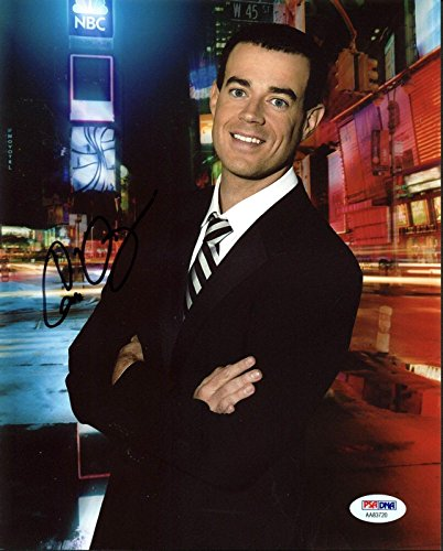 Carson Daly Last Call with Carson Daly Signed 8X10 Photo PSA #AA83720
