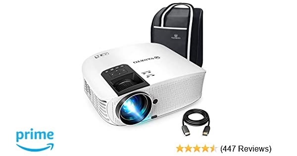 vankyo leisure 510 full hd movie projector with 4000 lux, video projector  with 200
