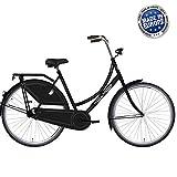 Hollandia Royal Dutch Bicycle, Single Speed, 26 inch X 19 inch, Black