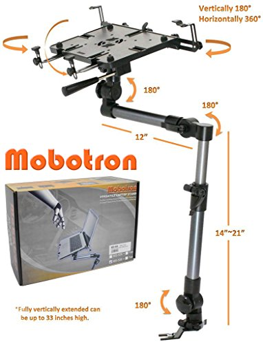 Mobotron MS-526 Heavy-duty Car VAN SUV iPad Laptop Mount Stand - For Cars Laptop Stands