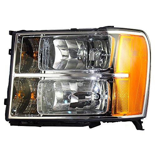 Drivers Headlight Headlamp Replacement for GMC Pickup Truck 20980241