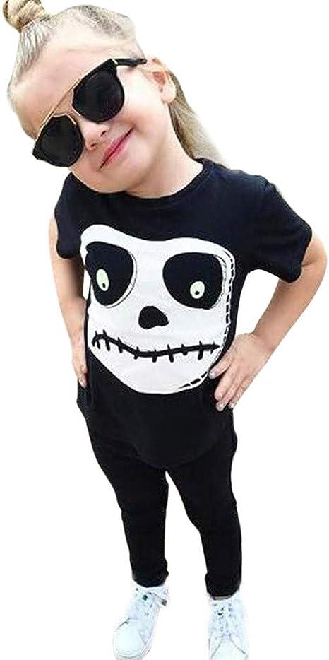 Blingko - Disfraz de Calavera para niños pequeños y niñas, de ...