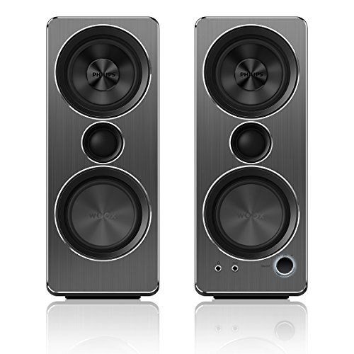 Philips SPA8210/37 Multimedia Speakers 2.0 (Black)