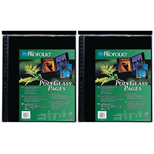 Itoya Art ProFolio Portrait Polyglass Pages (14'' x 17'') (2 Pack) by Itoya of America, Ltd (Image #4)