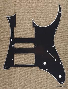 3 capas calidad Protector de púa de guitarra Ibanez RG 350 DX - Negro (B20): Amazon.es: Instrumentos musicales