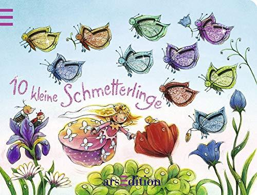 10 kleine Schmetterlinge: Ein Zählbuch (10er Stanze)