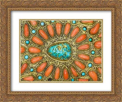 Amazon com: Turkish Culture - 24x20 Gold Ornate Frame and Double