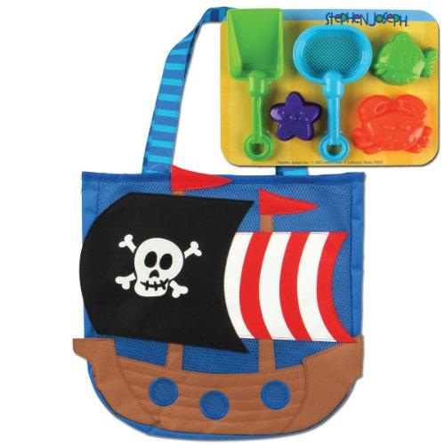 Tote Kid Pirate - Stephen Joseph Beach Tote, Pirate
