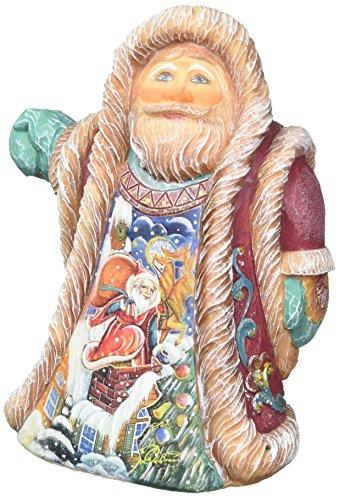 G. Debrekht Rooftop Santa