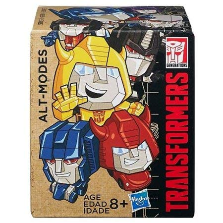 Transformers Generations ALT-Modes Series 1 Party Bag Mystery Packet Figure 1 Step Transformers Set of 6 W3 (Series Alt)