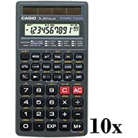 Lot of 10 Casio Scientific Calculator (FX260SLRSC)