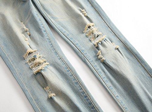 OBT Big Boy's Vintage Ripped Skinny Destroyed Stretch Slim Distressed Jeans Pants 14 by OBT (Image #5)