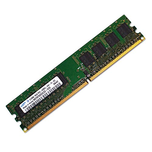 Samsung 512MB DDR2 PC2-4200U 533MHz 1Rx8 M378T6553CZ3-CD5