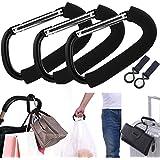 APURSUE 3 Pack X-Large Stroller Hook for Mommy, Hanger...