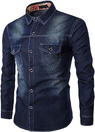 Camisa De Mezclilla Pantalones Vaqueros Blusa Modernas La De ...