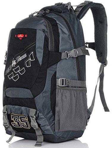 Binlion Taikes Outdoor Sport Camping Hiking Backpack mochila de senderismo Deportes y aire Libre para Mochilas y bolsas Mochilas Tipo Casual y Bolsas y Mochilas para portátiles y netbooks Blue