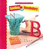 HM Spelling and Vocabulary Level 8, HOUGHTON MIFFLIN, 039597044X