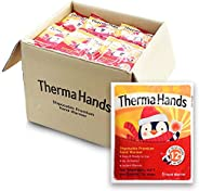 """ThermaHands Hand Warmers [5-180 Packs] - Premium Quality (Size: 3.5"""" x 4"""", Duration: 12+ Hours, Max"""