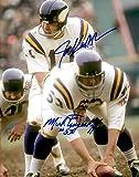 Autographed Joe Kapp & Mick Tingelhoff 8x10 Minnesota Vikings Photo