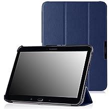 MoKo Samsung Galaxy Tab 4 10.1 / Tab 4 Nook 10.1 2014 Case - Ultra Slim Lightweight Smart-shell Stand Case for Samsung GALAXY Tab 4 10.1 inch, INDIGO
