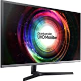 Samsung LU32H850UMNXZA 31.5' UH850 UHD Monitor with Quantum Dot Black/Silver