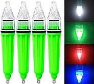 4pcs Underwater Fishing Light Bait for Attracting Bait Fish Finder Deep Drop Waterproof Fishing LED Lamp Squid