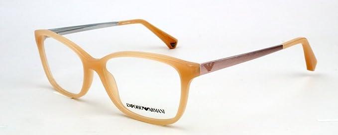 483203fef773df Emporio Armani Brille EA 3026 5087 Größe 54 in Pearl Peach aus Kunststoff