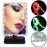 Gotd 2M Battery Powered RGB Strip Light Kit Mirror Lighted Vanity LED Light Strip Lamp (Style 4)