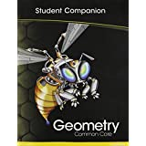 HIGH SCHOOL MATH COMMON-CORE GEOMETRY STUDENT COMPANION BOOK GRADE 9/10