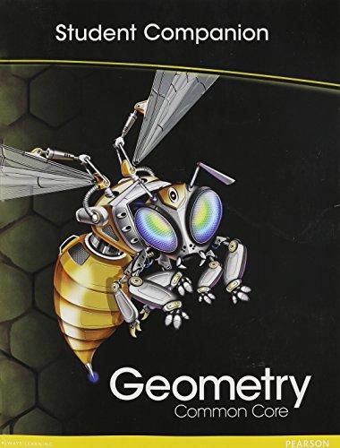 HIGH SCHOOL MATH COMMON-CORE GEOMETRY STUDENT COMPANION BOOK GRADE 9/10