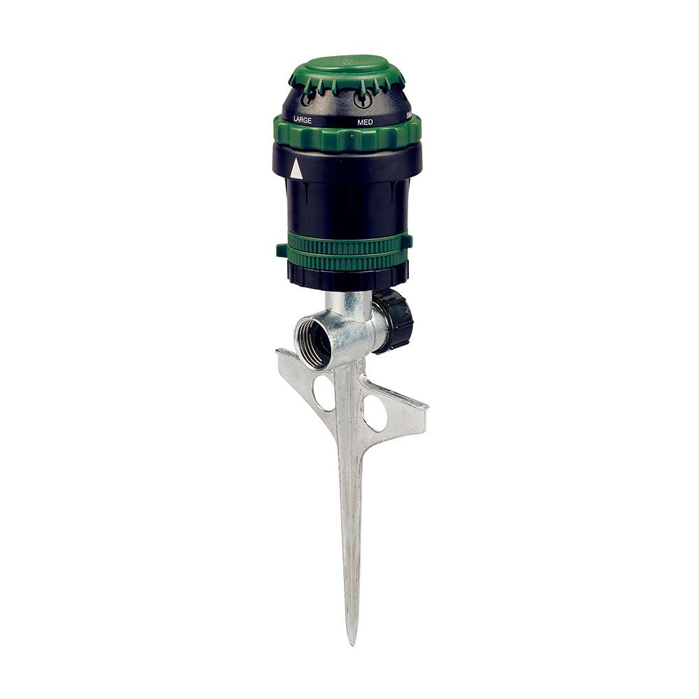 2 Pack Orbit H20-6 Gear Driven Sprinkler on Sturdy Spike Base