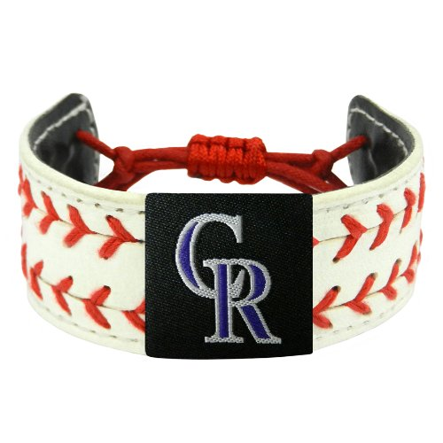 MLB Colorado Rockies Classic Two Seamer Bracelet ()
