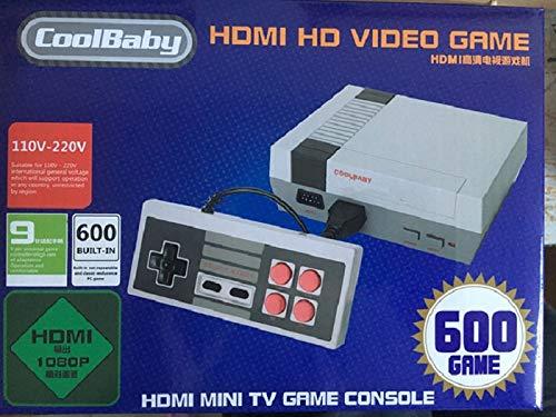 Video Consola Retro Classic Con 621 Juegos Tv Y 2 Mandos Hdmi