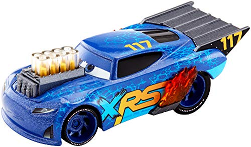 Disney Pixar Cars XRS Drag Racing Lil' Torquey (1 18 Scale Diecast Drag Racing Cars)