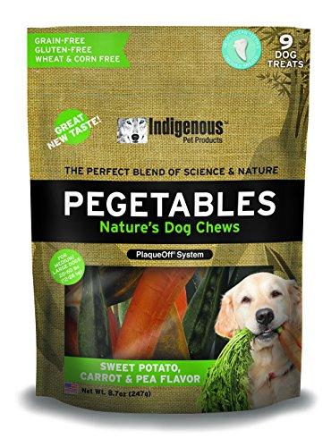 Pegetables Mixed 8.7-Ounce Value Size Dental Chew, Medium