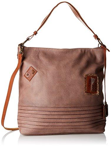 David Jones 5770-1 - Shoppers y bolsos de hombro Mujer Rosa (D.pink)