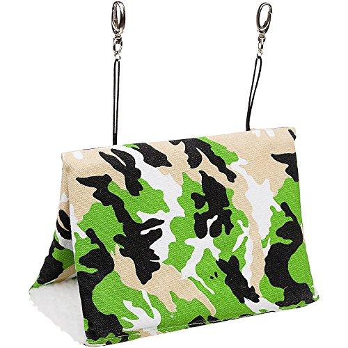 "Multipet Green Camouflage Small Animal Happy Hut, 9"" L X 5"" W X 6"" H"