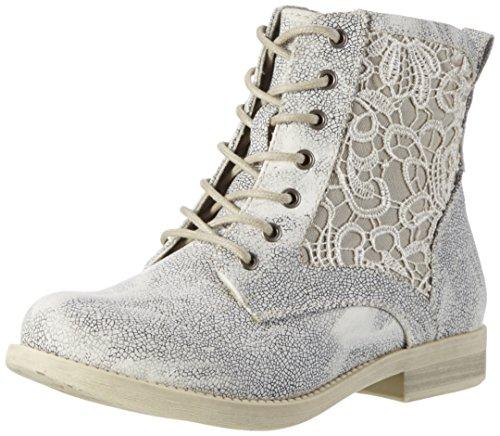 Rieker Damen 96618 Kurzschaft Stiefel Grau