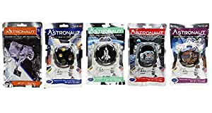 Astronaut Ice Cream Neapolitan, Mint, Cookies & Cream, Sandwich and Chocolate Chip Freeze Dried Food PACK OF 5