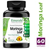Moringa Leaf -Nature's Multi Vitamin, Supports Bone Health, Promotes Healthy Skin and Nails, Supports Weight Loss - Emerald Laboratories (Fruitrients) - 60 Vegetable Capsules