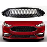 amazoncom ford fusion   gloss black front bumper honeycomb mesh grill automotive