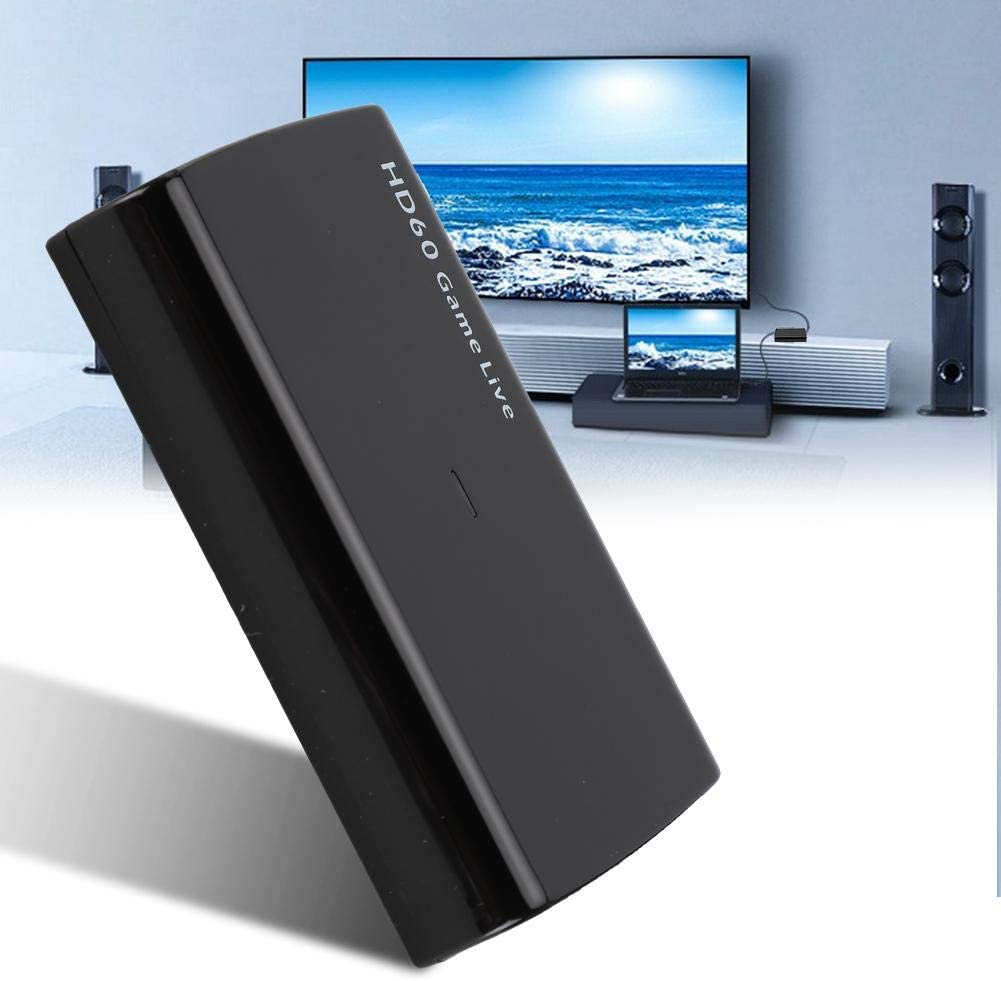 HDMI USB3.0 4K Ultra HD 3,5-mm-Mikrofoneingang Videoaufnahmekarte f/ür PS4//PS3//Xbox mit HDMI-Ausgabeger/ät Hakeeta Videoaufnahmekarte